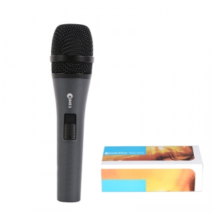 e845s Handheld Dynamic Supercardioid Mic with Switch