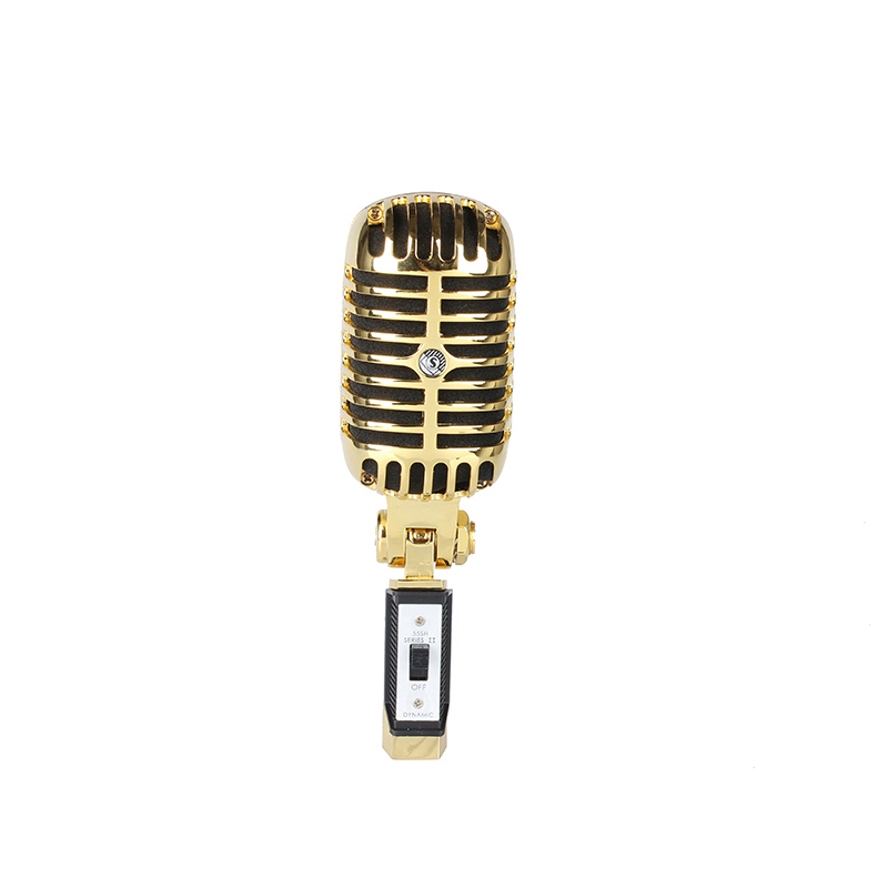 A dynamic mic with vintage appeal